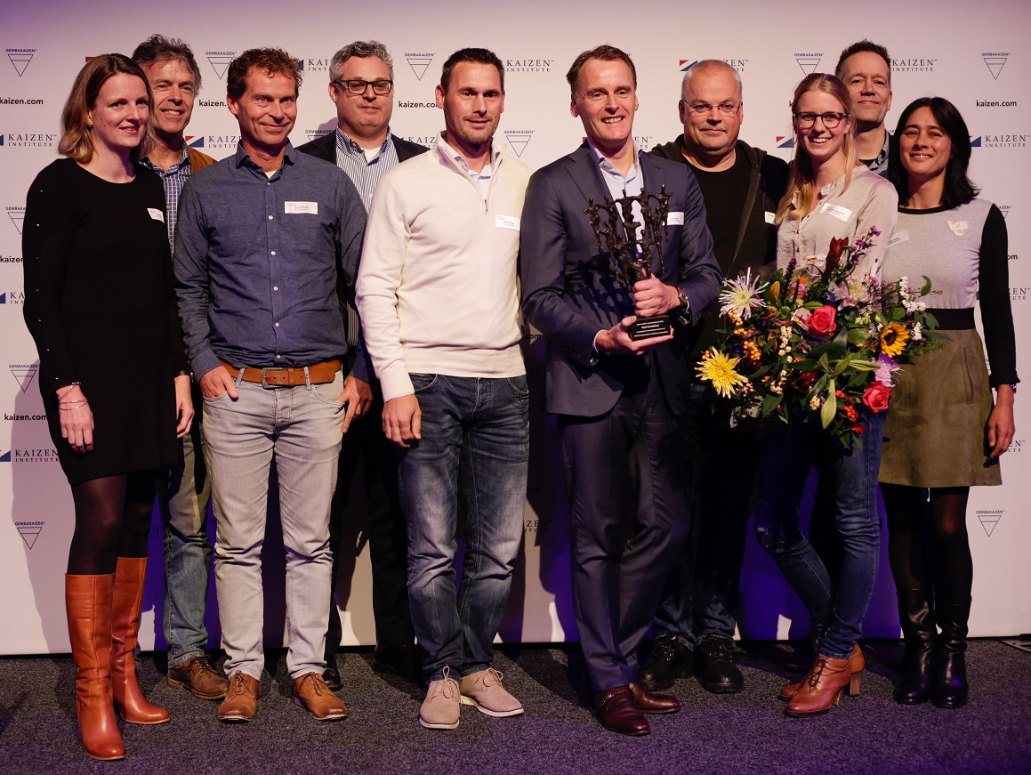 Kaizen Institute Netherlands awarded Royal FloraHolland with the KAIZEN™ Award Nederland 2018, Category: Excellence in Continuous Improvement System