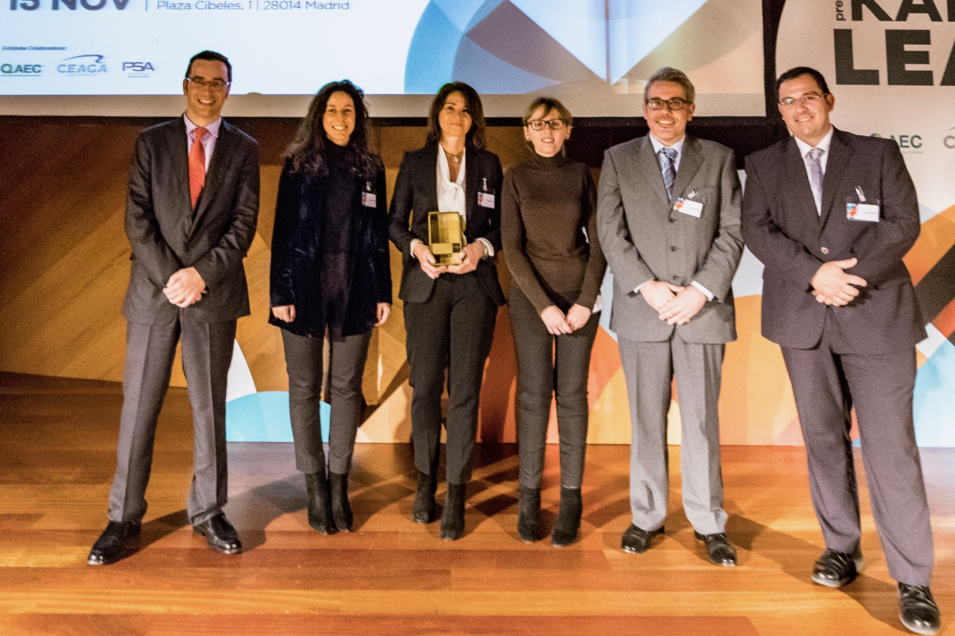 Kaizen Institute Spain awarded CIN Valentine with the Premio KAIZEN™ Lean España, Category: Excellence in Productivity